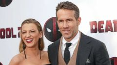 """PHOTO: Blake Lively and Ryan Reynolds attend a special screening of """"Deadpool 2"""" in New York on May 14, 2018."""
