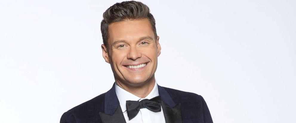 "PHOTO: Ryan Seacrest will return to host ""Dick Clark?s New Year?s Rockin? Eve with Ryan Seacrest 2018,"" Dec. 31, 2017, again joined by actress and comedian Jenny McCarthy."