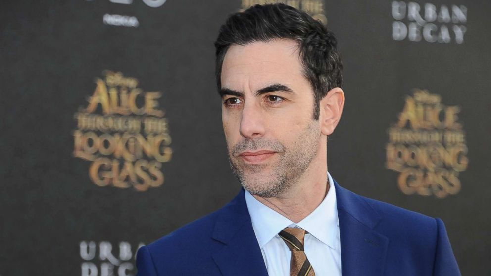 Sacha Baron Cohen attends the premiere of Disney's 'Alice Through the Looking Glass' at  the El Capitan Theater on May 23, 2016 in Hollywood, Calif.