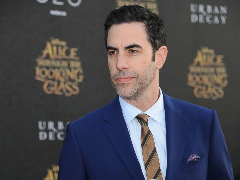 PHOTO: Sacha Baron Cohen attends the premiere of Disneys Alice Through the Looking Glass at the El Capitan Theater on May 23, 2016 in Hollywood, Calif.