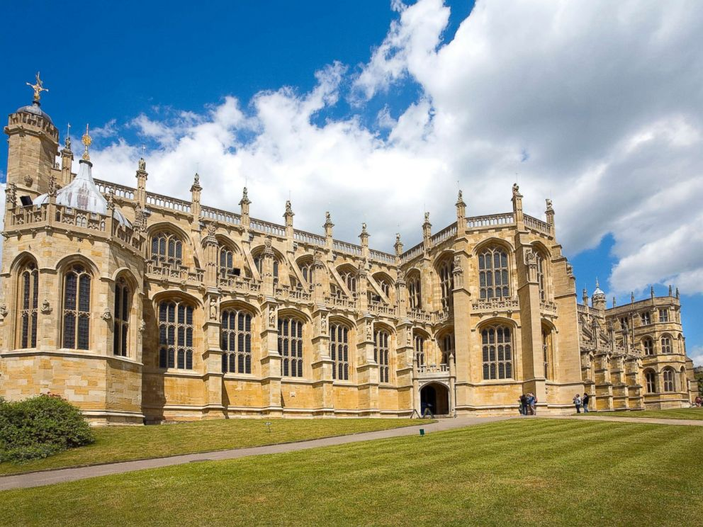 PHOTO: St. Georges Chapel at Windsor Castle in Berkshire, England is pictured in this undated stock photo.