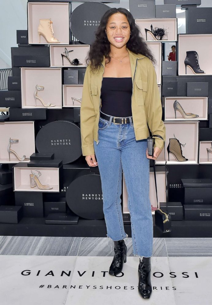 PHOTO: Salem Mitchell attends Georgie Flores, Nicole Yoone, Zolee Griggs and Barneys New York Celebrate #BarneysShoeStories at Barneys New York Beverly Hills, April 4, 2018, in Beverly Hills, Calif.