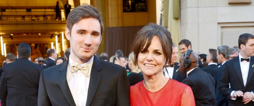 PHOTO: Sally Field and son Sam Greisman arrive at the Oscars at Hollywood & Highland Center on Feb. 24, 2013, in Hollywood, Calif.