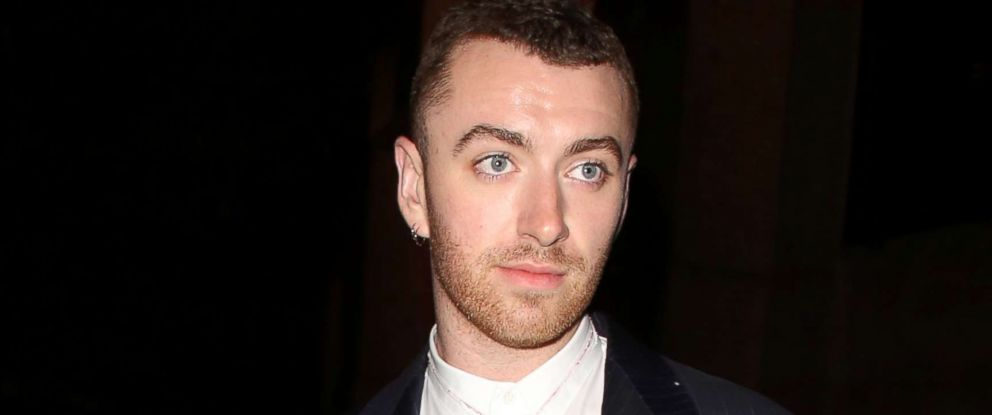 PHOTO: Sam Smith attends an event in London, Oct. 12, 2017.