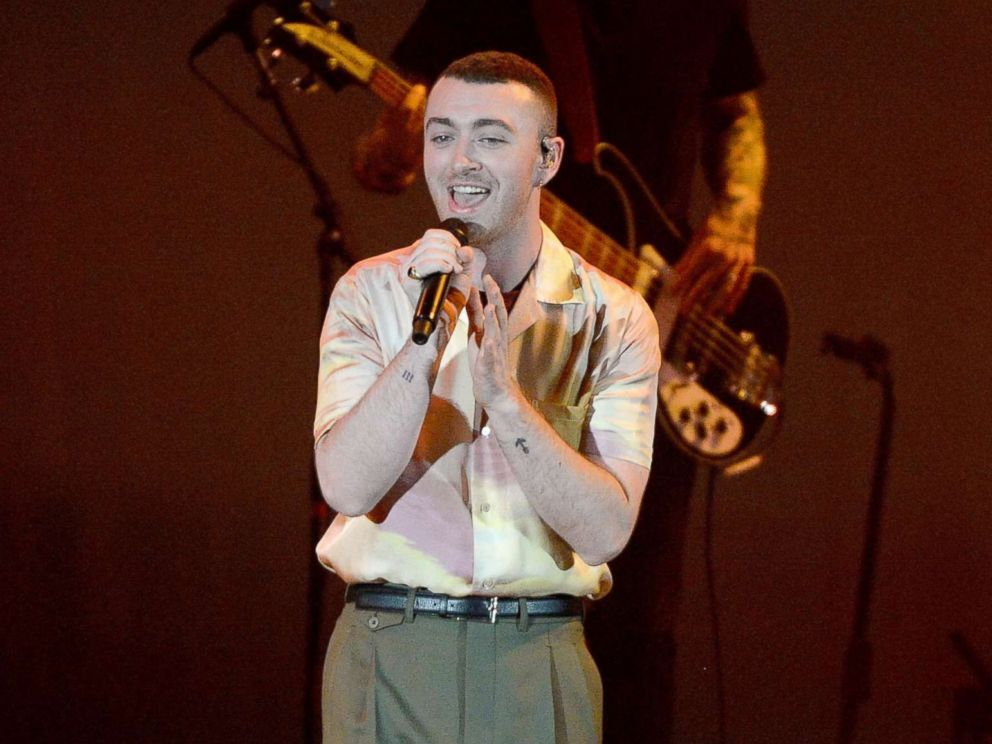 PHOTO: Sam Smith performs at the Hollywood Bowl on Oct. 21, 2017 in Hollywood, Calif.