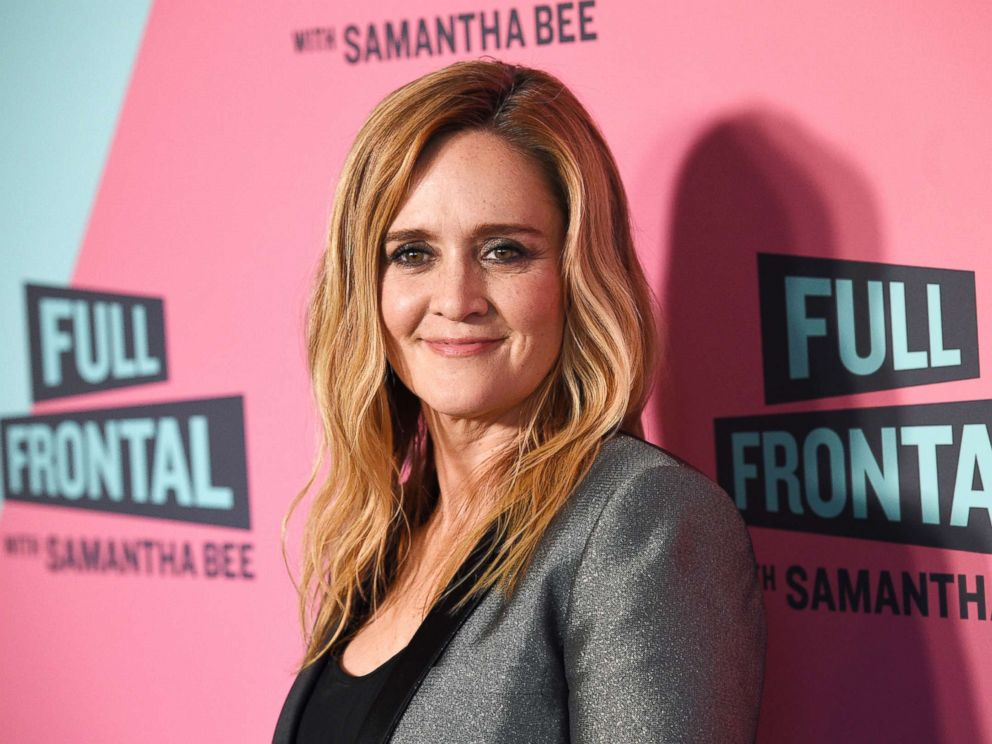 PHOTO: Samantha Bee, host of Full Frontal with Samantha Bee, poses at the Writers Guild Theater, May 24, 2018, in Beverly Hills, Calif.