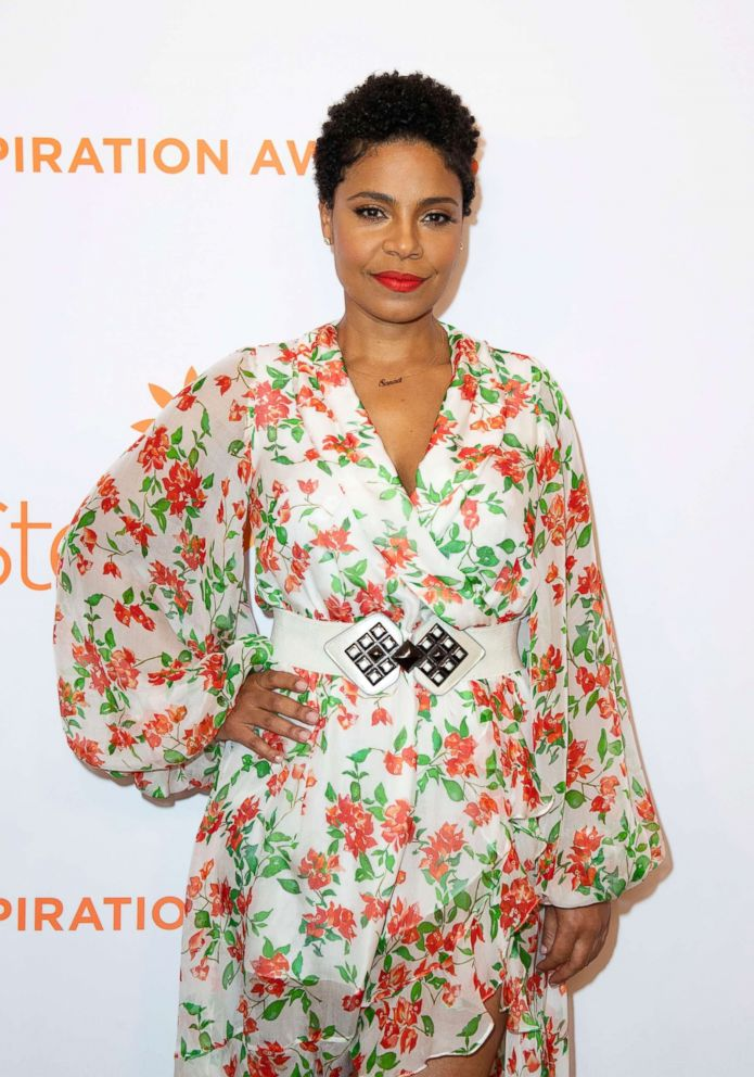 PHOTO:Actress Sanaa Lathan attends the Inspiration Awards hosted by Step Up, June 1, 2018, in Beverly Hills, Calif.