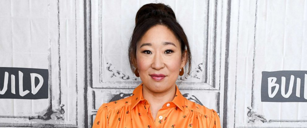 "PHOTO: Actress Sandra Oh visits Build Series to discuss ""Killing Eve,"" April 5, 2018 in New York City."