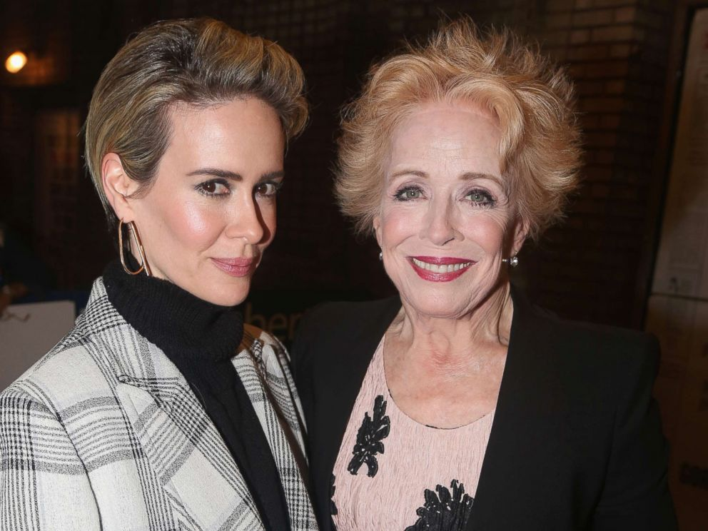 Sarah Paulson says relationship with Holland Taylor is not