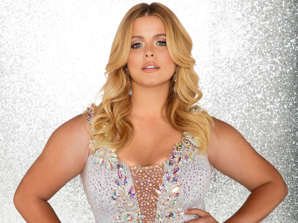 PHOTO: Sasha Pieterse will compete for the mirror ball title on the new season Dancing With The Stars.