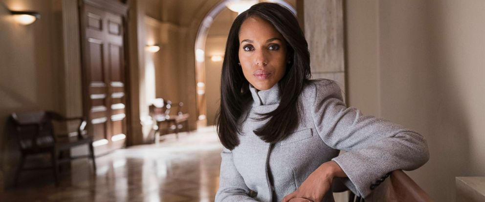 "PHOTO: Kerry Washington in a scene from Scandals ""Allow Me to Reintroduce Myself"" airing on March 1, 2018 on The ABC Television Network."