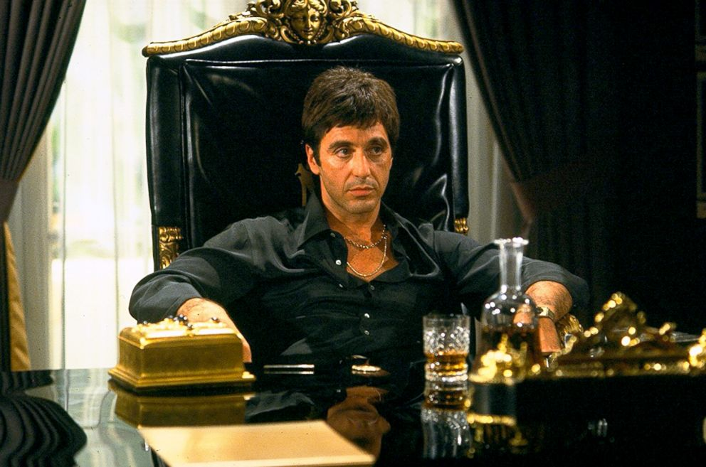 PHOTO: Al Pacino in a scene from Scarface.