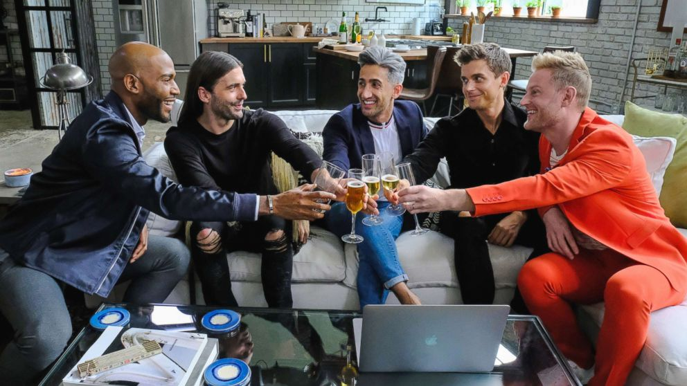 """A production still for """"Queer Eye for the Straight Guy"""" is seen here."""