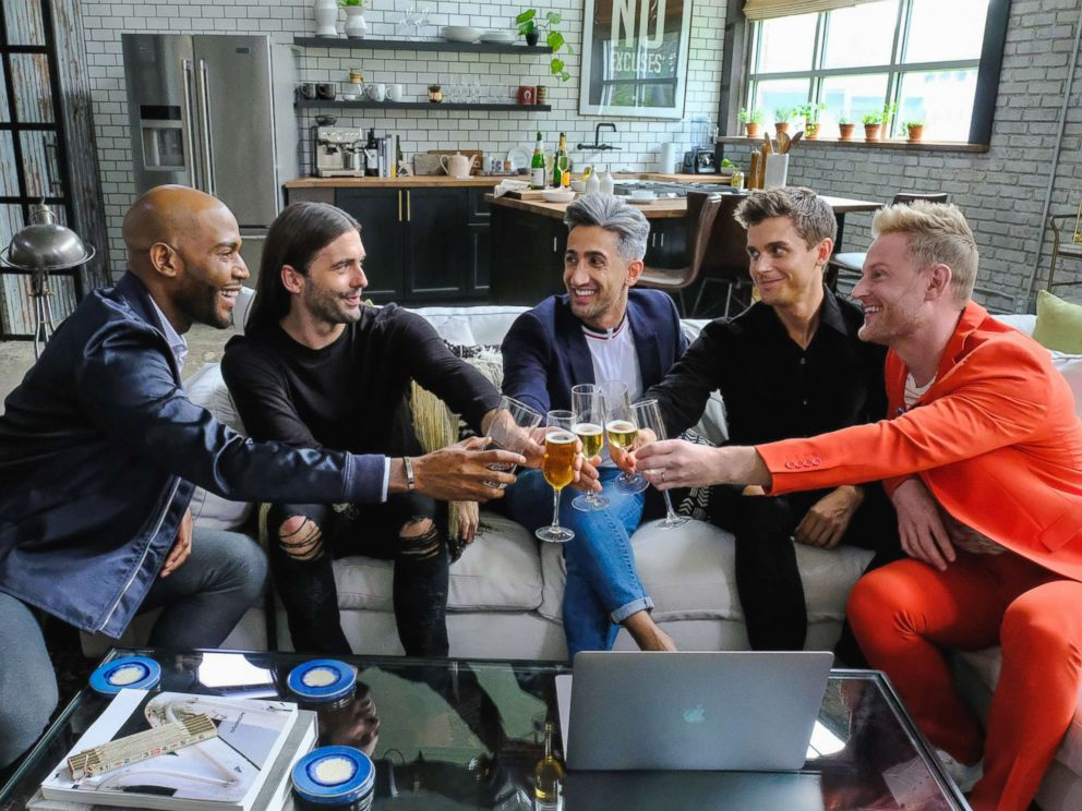 PHOTO: A production still for Queer Eye for the Straight Guy is seen here.