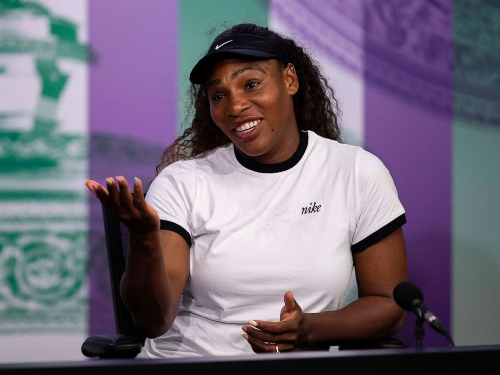 Serena Williams reveals post-baby weight-loss battle