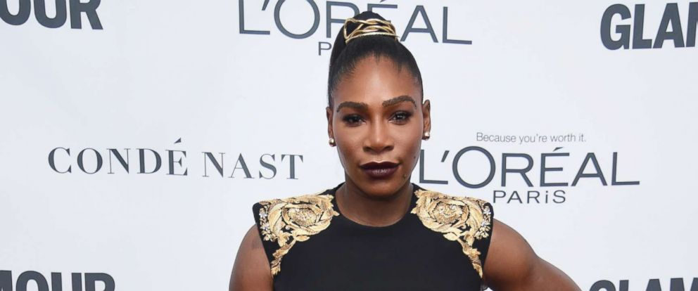 PHOTO: Serena Williams attends Glamours 2017 Women of The Year Awards at Kings Theatre, Nov. 13, 2017, in Brooklyn, N.Y.
