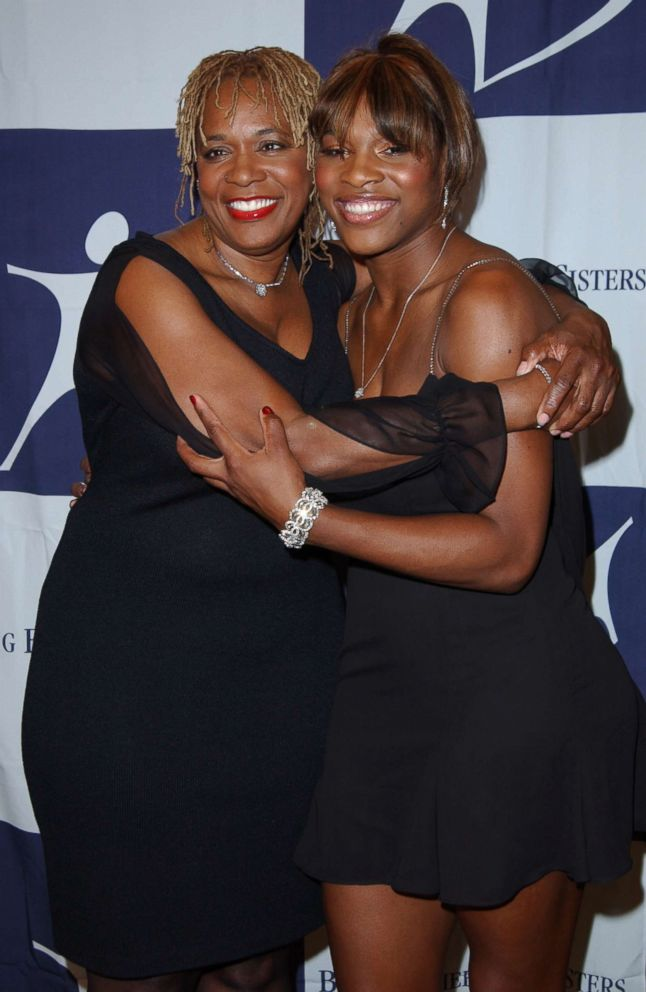PHOTO: Serena Williams and mom Oracene Price during The 2003 Rising Stars Gala in Century City, Calif., Nov. 14, 2003.