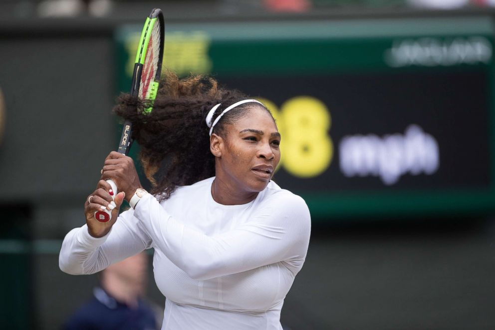 Serena Williams tweets about testing 'discrimination'