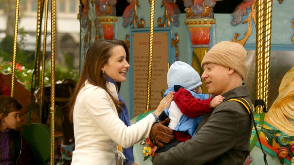 PHOTO: Kristin Davis, as Charlotte York, and Evan Handler, as Harry Goldenblatt, in a scene from Sex and the City.
