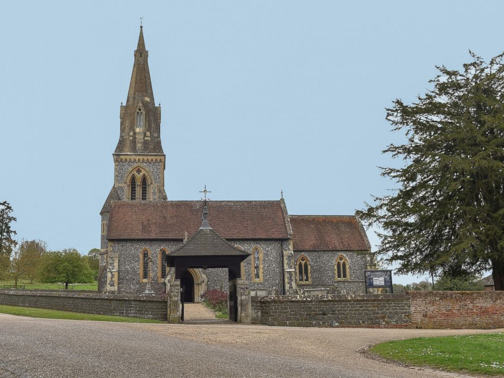 PHOTO: The wedding location of Pippa Middletons upcoming nuptials, April 14, 2017. Middleton plans to marry fiance James Matthews at the 12th century, St Marks Church, in Englefield, Berkshire, England, on May 20, 2017.