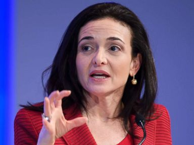 PHOTO: Sheryl Sandberg, Chief Operating Officer (COO) of Facebook, speaks during a session at the Congress centre on the second day of the World Economic Forum, Jan. 18, 2017, in Davos, Switzerland.