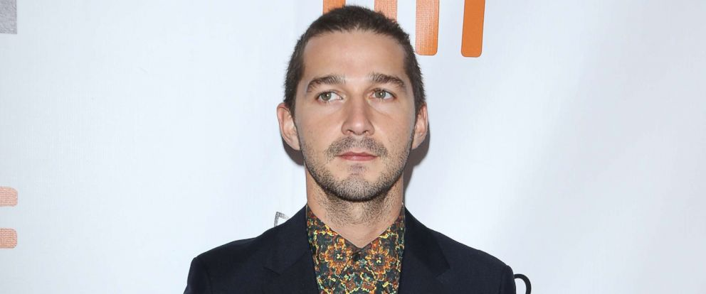 PHOTO: Shia LaBeouf attends the Borg/McEnroe premiere held during the 2017 Toronto International Film Festival, Sept. 7, 2017, in Toronto, Canada.