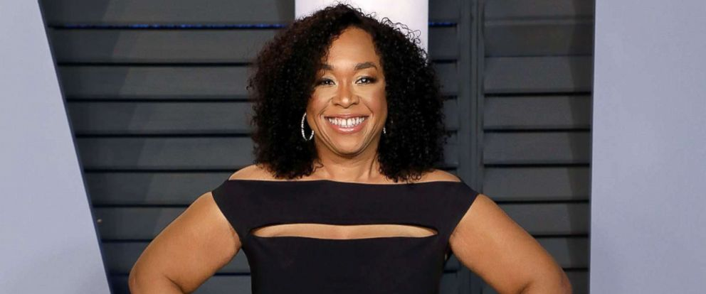 PHOTO: Shonda Rimes attends the 2018 Vanity Fair Oscar party at the Wallis Annenberg Center for the Performing Arts, March 4, 2018, in Beverly Hills, Calif.