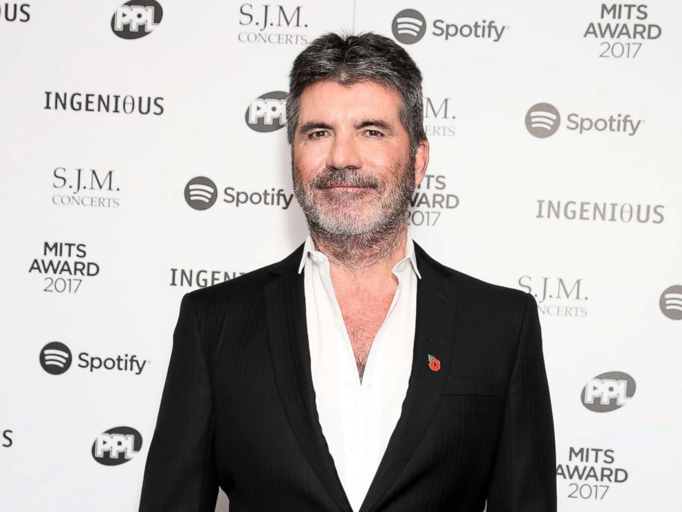 PHOTO: Simon Cowell attends the 26th annual Music Industry Trust Awards held at The Grosvenor House Hotel on Nov. 6, 2017, in London, England.