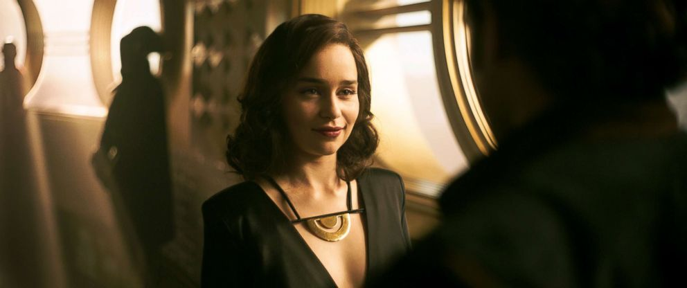 PHOTO: Emilia Clarke as Qira in a scene from Solo: A Star Wars Story.