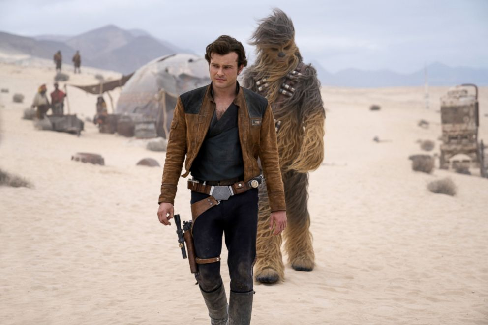 PHOTO: Alden Ehrenreich in a scene from Solo: A Star Wars Story.
