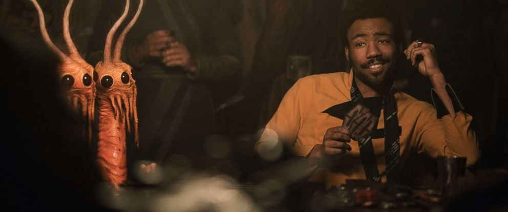 "PHOTO: Donald Glover is Lando Calrissian in ""Solo: A Star Wars Story,"" 2018."