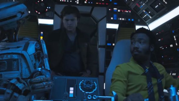 Latest 'Solo: A Star Wars Story' trailer features more Lando