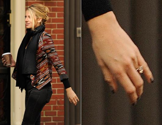 Blake Lively Picture Hollywood S Biggest Engagement