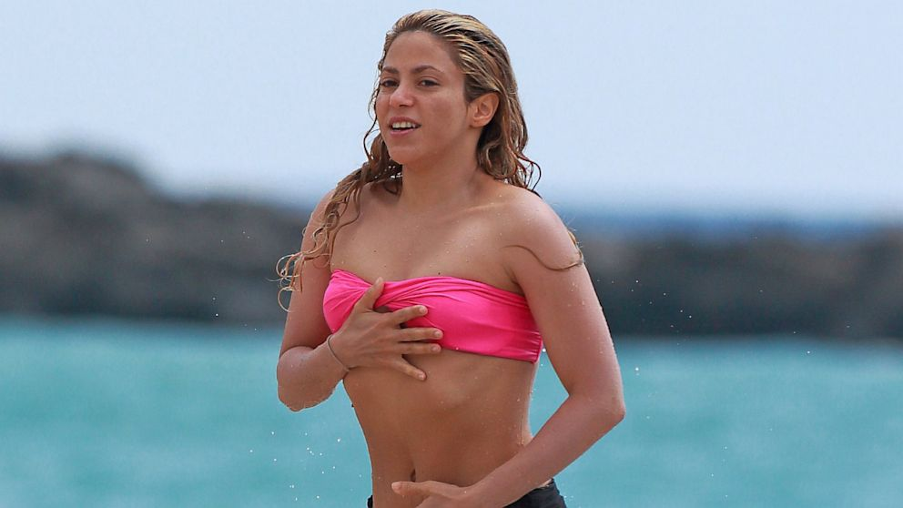 Shakira hot bikini think, that