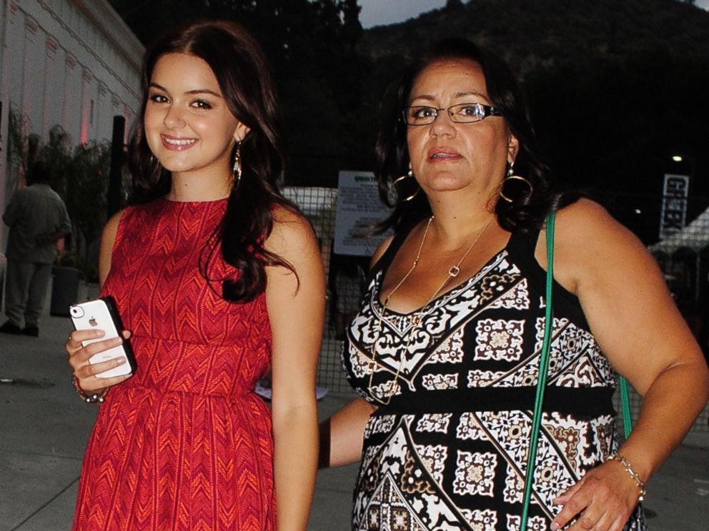 PHOTO: Modern Family actress Ariel Winter arrives to a concert at the Greek Theater in Los Angeles with her mother, Chrisoula Workman, on July 19, 2012.