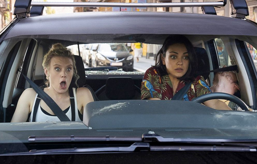 PHOTO: Kate McKinnon and Mila Kunis in a scene from The Spy Who Dumped Me.