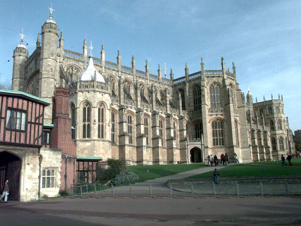 PHOTO: In this file photo dated June 1, 1999 shows St. Georges Chapel at Windsor Castle in Berkshire, which has been chosen as the venue for the wedding of Prince Harry and Meghan Markle.