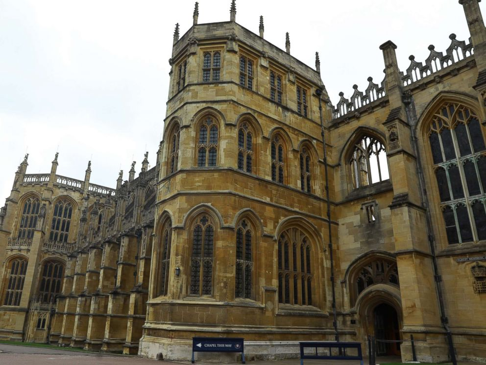 PHOTO: A view of St Georges Chapel in Windsor Castle in Windsor, England, Nov. 29, 2017.