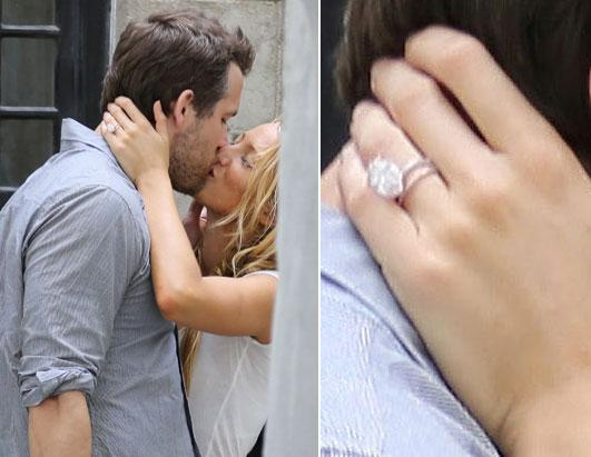 Hollywood S Biggest Engagement Rings Photos Abc News