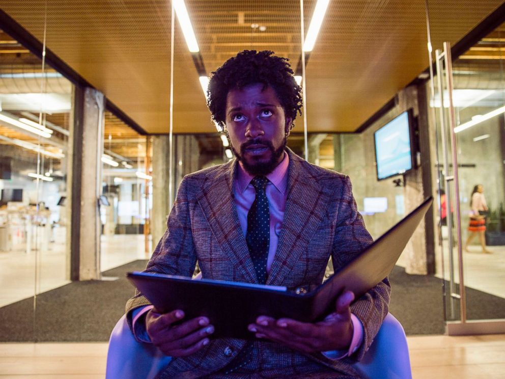 PHOTO: Lakeith Stanfield in a scene from Sorry to Bother You.