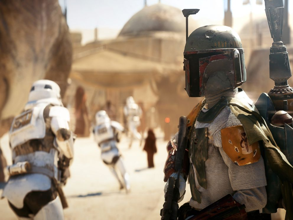 PHOTO: Screenshot from Star Wars: Battlefront II.