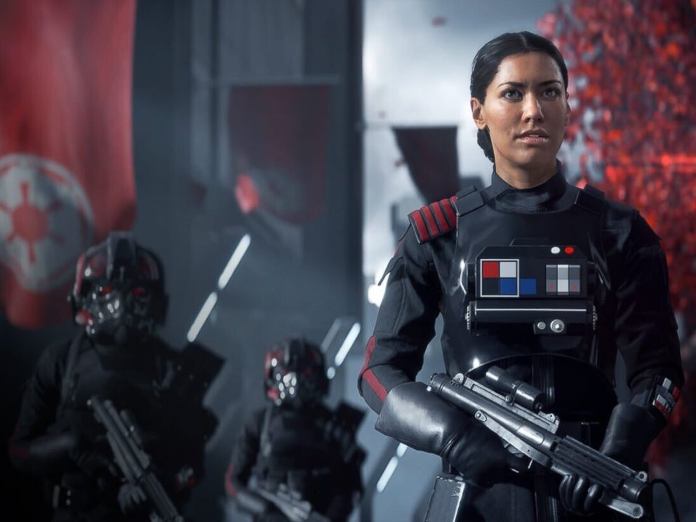 PHOTO: A scene from Star Wars: Battlefront II, video game.