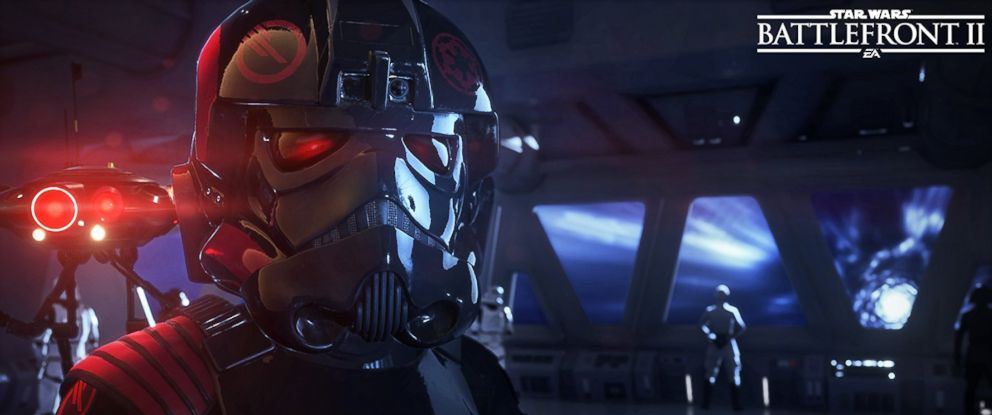 "PHOTO: A scene from ""Star Wars: Battlefront II,"" video game."