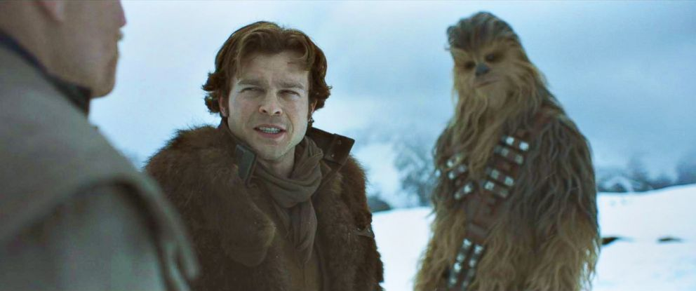 """PHOTO: A scene from """"Solo: A Star Wars Story."""""""