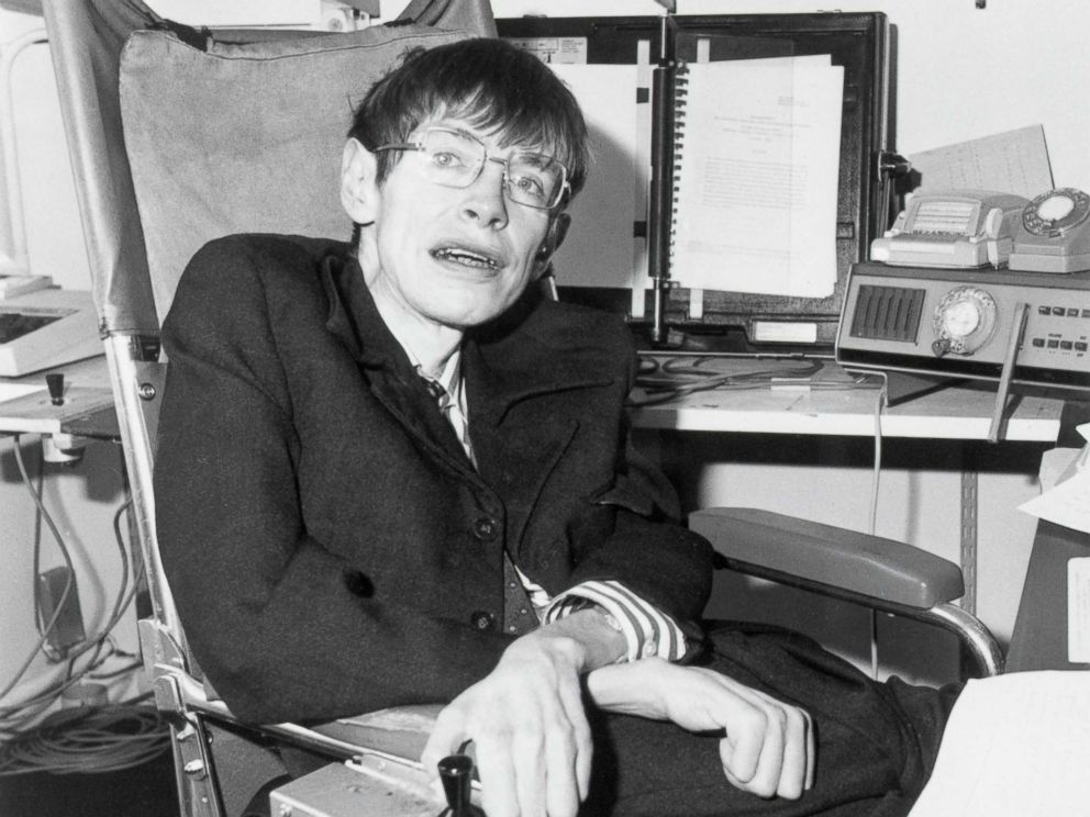 Dr. Stephen Hawking, 76