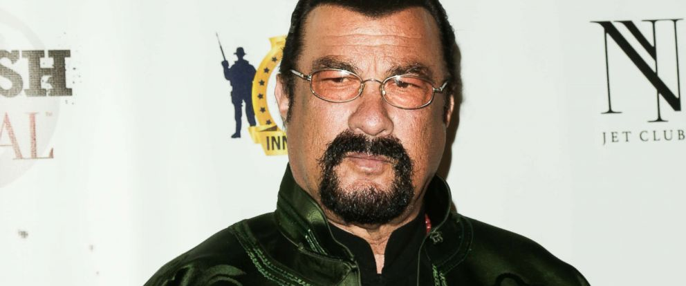 PHOTO: In this file photo actor Steven Seagal attends the SMASH Global V pre-Oscar fight at Taglyan Complex, Feb. 23, 2017, in Los Angeles.