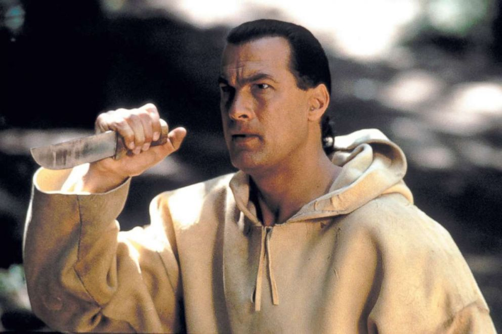 PHOTO: Steven Seagal in a scene from On Deadly Ground, 1994.
