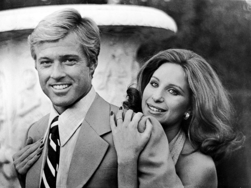 PHOTO: Robert Redford and Barbra Streisand in a scene from The Way We Were.
