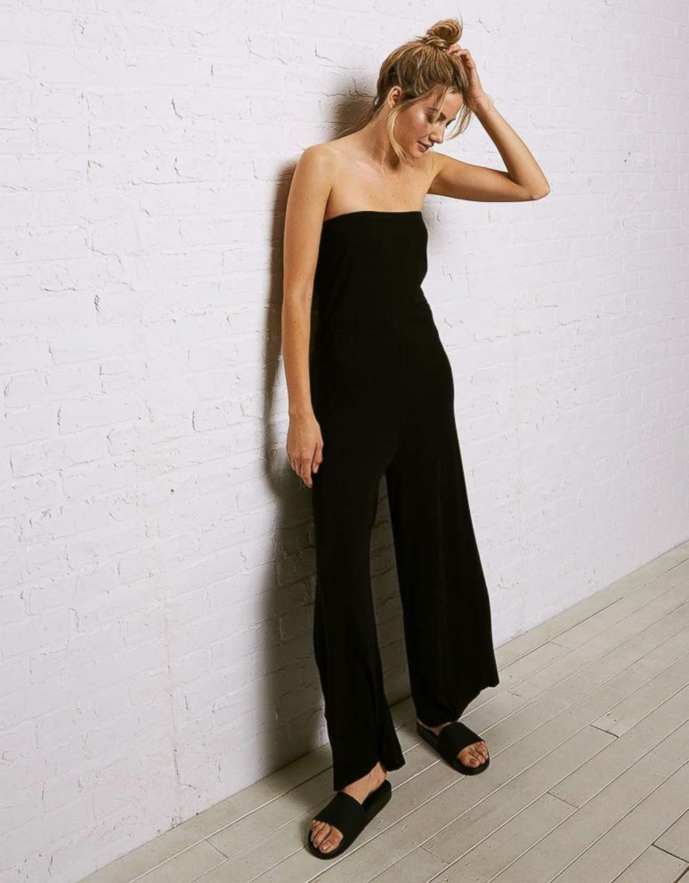 PHOTO: When you think of effortless dressing, a jumpsuit comes to mind. Slip this one on and you're ready to go.