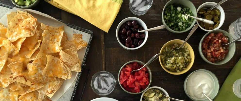 PHOTO: This undated photo shows a nacho bar on a table inside a home in New York.